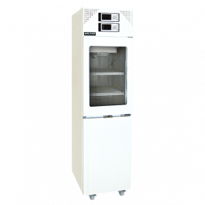 LFFG 270 - Tủ lạnh combi, 2 dải nhiệt độ, cửa kính buồng mát, 161/161 lít, LFFG 270 Arctiko
