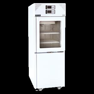 LFFG 660 - Tủ lạnh combi, 2 dải nhiệt độ, cửa kính buồng mát, 288/288 lít LFFG 660 Arctiko