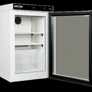 PRE 55 - Tủ mát bảo quản +2 đến +8°C, loại đứng, cửa kính, 55 lít Arctiko