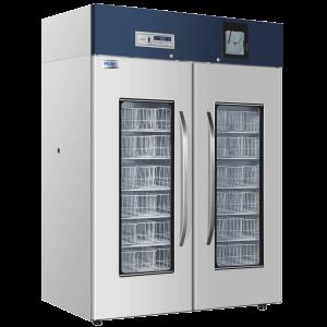 HXC-1308 - Tủ lạnh trữ máu chuyên dụng 1308 lít có bộ ghi nhiệt độ, kiểu giỏ đựng, Haier BioMedical